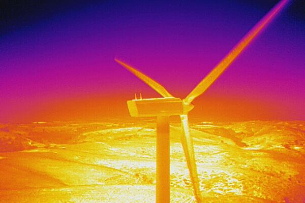 Wind turbine 03 thermal