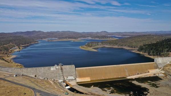 Paradise Dam in Queensland